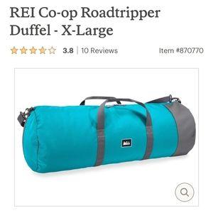 NWT XL Roadtripper duffel 96L